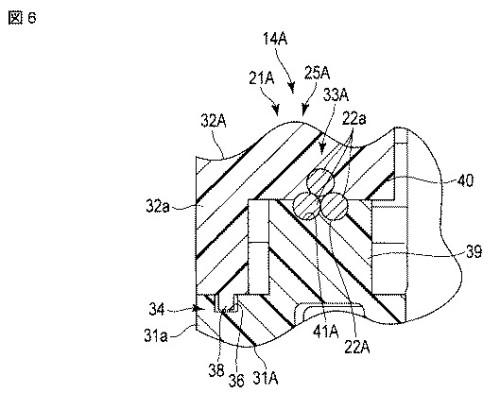 図6 本発明の第2の実施形態に係る検出装置の構成を示す断面図。
