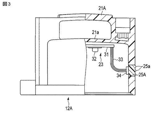 【図3】本発明の第2の実施形態に係る水中ポンプに用いられる制御装置の構成を示す断面図。