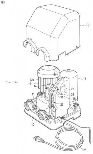 【図1】本発明の一実施形態に係る給水装置の構成を示す斜視図。