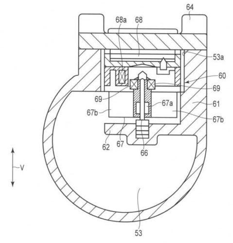 【図3】第1の連結管を切断して示す断面図。